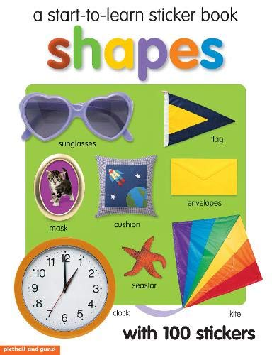 9781907604256: Shapes Sticker Book (Start to Learn)
