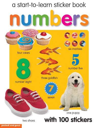 Start to Learn Numbers Sticker Book: Chez Picthall