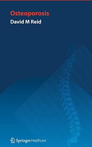 Handbook of Osteoporosis: DAVID REID