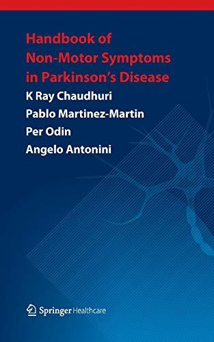 9781907673238: Handbook of Non-Motor Symptoms in Parkinson's Disease