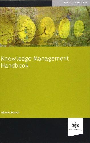 9781907698118: Knowledge Management Handbook