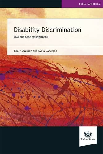 9781907698606: Disability Discrimination: Law and Case Management