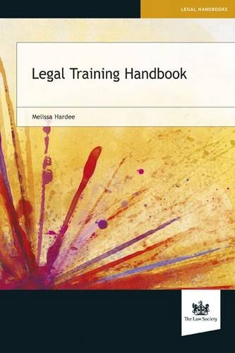 Legal Training Handbook (Paperback): Melissa Hardee