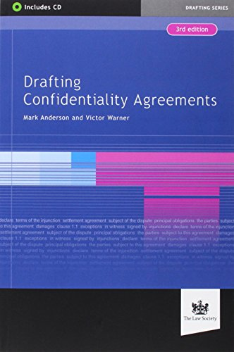 Drafting Confidentiality Agreements: Anderson, Mark, Victor, Warner
