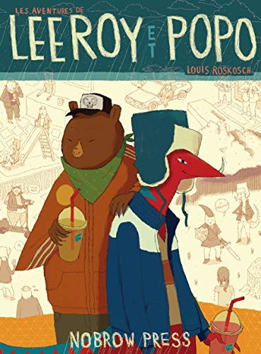9781907704321: The Adventures of Leeroy and Popo (Nobrow Serial Box)