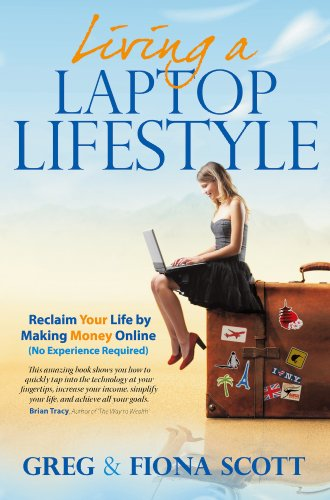 Living A Laptop Lifestyle 9781907722899 Living a Laptop Lifestyle - Reclaim Your Life by Making Money Online (No Experience Required). Follow the 'Five Essential Steps To Success' as you read an intriguing and compelling guide for creating your own online business. Each chapter is carefully composed to suit the budding entrepreneur; from the very basics of getting started, right through to creating your very own website, and making money online.Greg and Fiona Scott, share their own absorbing account of their online business, while discussing the many trials and pitfalls. They take you on an engrossing journey towards the lifestyle that they have become accustomed. Their story involves other well-esteemed entrepreneurs, who have all made a valuable contribution to their lives, plus they meticulously cover a full-range of essential topics, which are designed to take the potential entrepreneur towards their ultimate goal - living a life full of choice.
