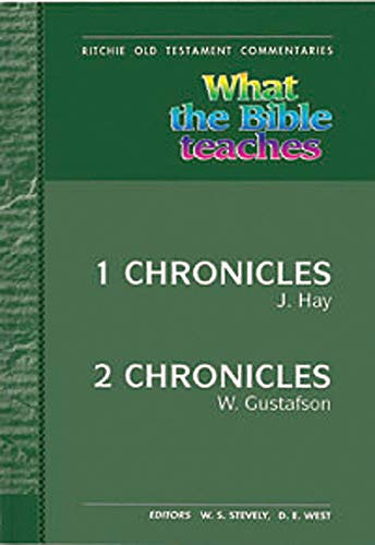 9781907731860: WTBT 1 and 2 Chronicles (Ritchie Old Testament Commentaries)