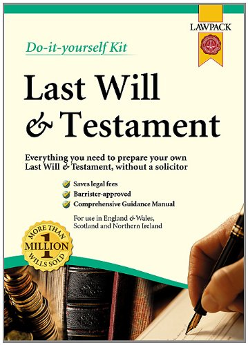 9781909104082 last will testament kit do it yourself kit 9781907765179 last will testament kit solutioingenieria Images