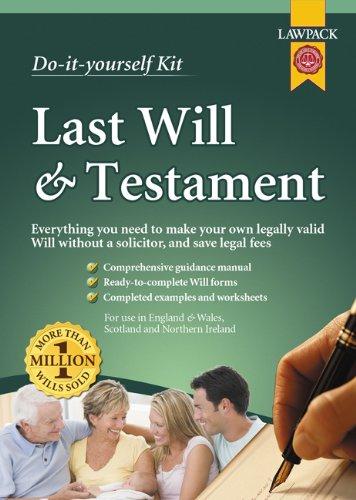 9781907765193: Last Will and Testament Kit