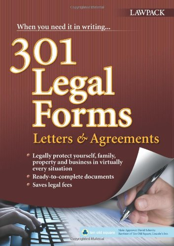 9781907765834: 301 Legal Forms, Letters & Agreements