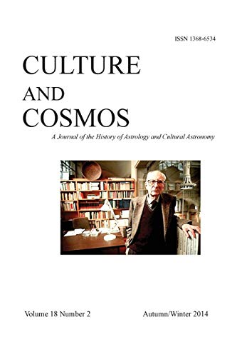Culture and Cosmos: Vol 18 Number 2: Sophia Centre Press
