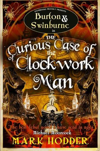 9781907777028: Curious Case of the Clockwork Man (Burton & Swinburne)