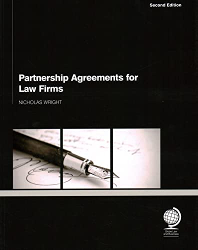 9781907787638: Partnership Agreements for Law Firms