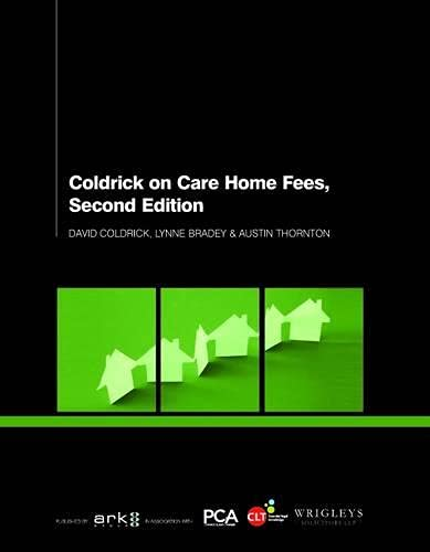 9781907787997: Coldrick on Care Home Fees