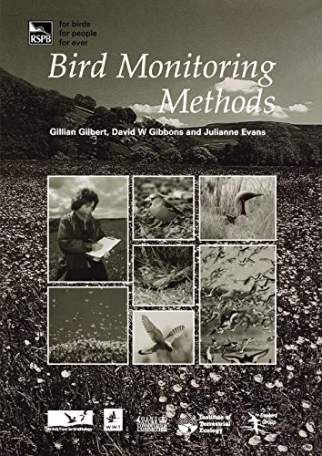 9781907807220: Bird Monitoring Methods: A manual of techniques for key UK species