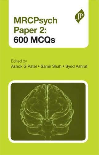 9781907816406: MRCPsych Paper 2: 600 MCQs