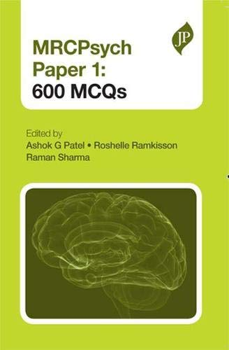 MRCPsych Papers 1 and 2: 600 EMIs (Paperback)