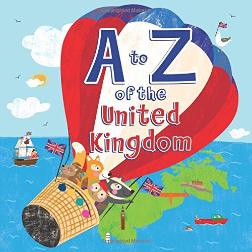 A to Z of the United Kingdom: With a Pull Out A to Z Poster Inside: Hugh Evans