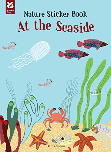 9781907892967: My Nature Sticker Activity Book: At the Seaside (My Nature Sticker Activity Bk)