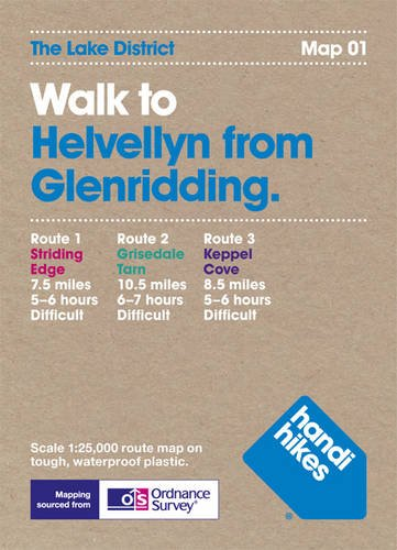 9781907901003: Walk to Helvellyn from Glenridding (Lake District)