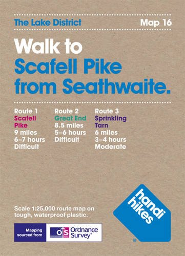 9781907901164: Walk to Scafell Pike from Seathwaite (Lake District)