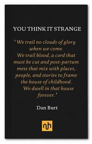 9781907903854: You Think it Strange