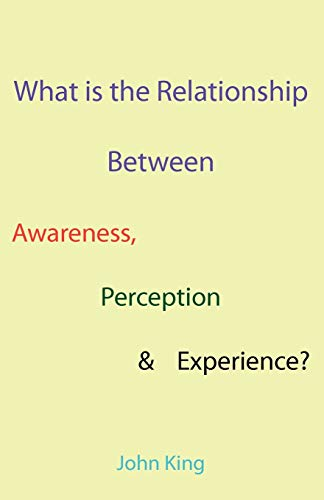 What is the Relationship Between Awareness, Perception Experience: John King