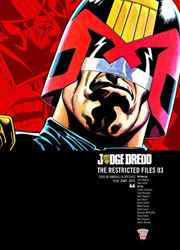 Judge Dredd  - Restricted Files (2000 Ad): Wagner, John; Millar, Mark; Furnan, Simon