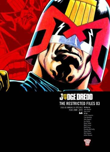 9781907992216: Judge Dredd The Restricted Files 03 2000 AD Annuals & Specials