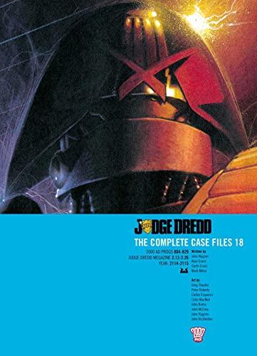 9781907992254: Judge Dredd: The Complete Case Files, Vol. 18- 2000 AD Progs 804-829