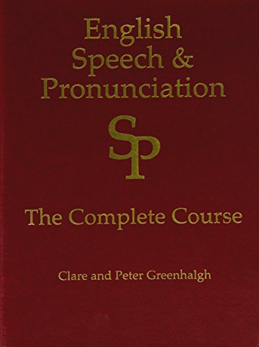 9781908001016: English Speech and Pronunciation Course (in 2 books and all on 14 DVDs)