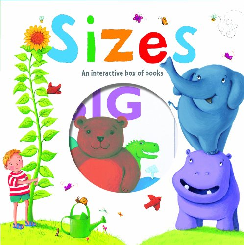 9781908005861: Sizes: An Interactive Box of Books (Little Learners)