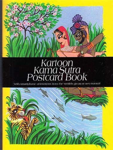 Kartoon Kama Sutra Postcard Book: With Smartphone: Elise Collet-Soravito