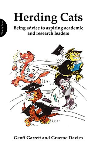 9781908009340: Herding Cats: Being advice to aspiring academic and research leaders