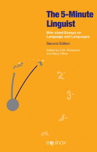 9781908049490: The 5 Minute Linguist: Bite-Sized Essays on Language and Languages