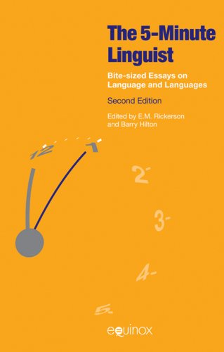 9781908049940: The Five-Minute Linguist: Bite-sized Essays on Language and Languages