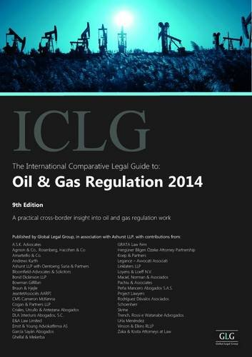 9781908070845: The International Comparative Legal Guide to: Oil & Gas Regulation 2014