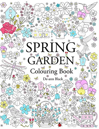 9781908072818: Spring Garden: Colouring Book