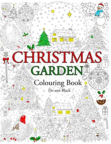 9781908072979: Christmas Garden: Colouring Book