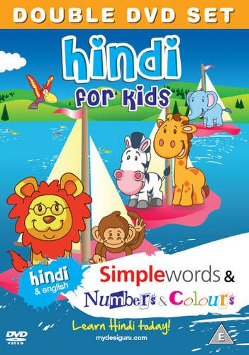 9781908079107: Hindi for Kids DVD Set: Simple Words & Number and Colours