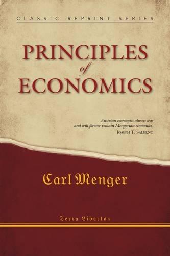 9781908089083: Principles of Economics (Classic Reprint Series)