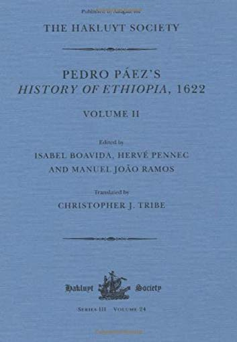 9781908145017: Pedro Páez's History of Ethiopia, 1622 / Volume II (Hakluyt Society, Third Series)