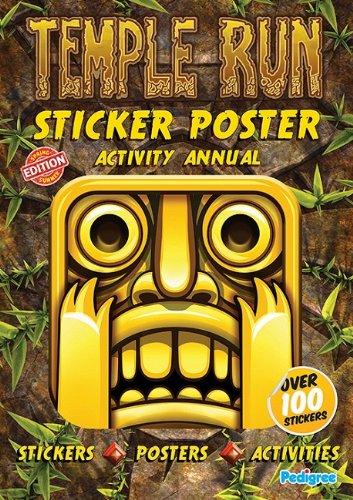 9781908152282: Temple Run Sticker & Poster Activity Annual