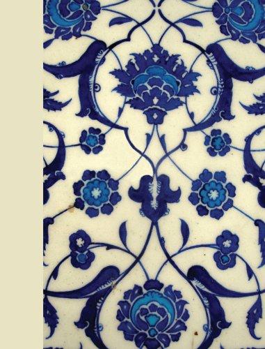 Journal : Turkish Blue Chevron (Hardcover)