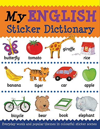 9781908164230: My English Sticker Dictionary (Language Sticker Books)