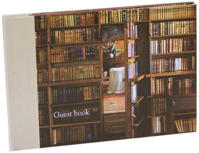 9781908170118: Living with Books Guest Book