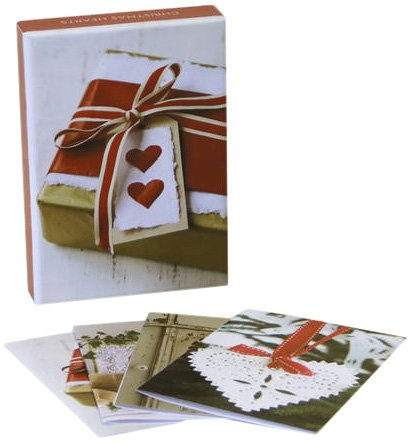 Christmas Hearts Classic Notecards (Christmas Delights): Paperstyle