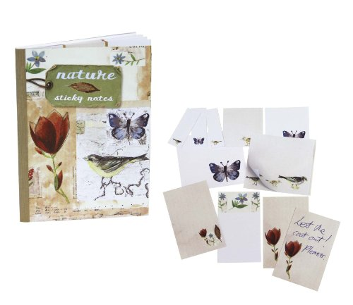 Nature Notes Sticky Notes (Hardcover): Paperstyle