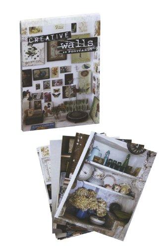 9781908170705: Creative Walls Postcard Book 10 Pack