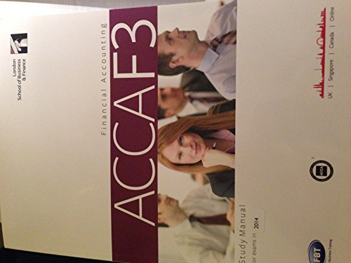 9781908171511: ACCA F3 (Financial Accounting) Study Manual